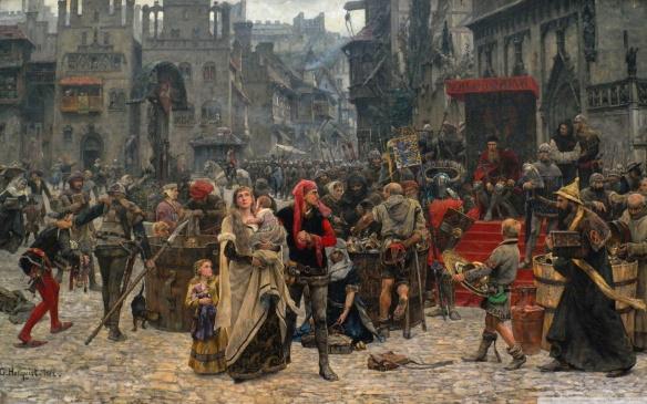 Mơ thấy ở trong thời trung cổ là điềm báo gì?
