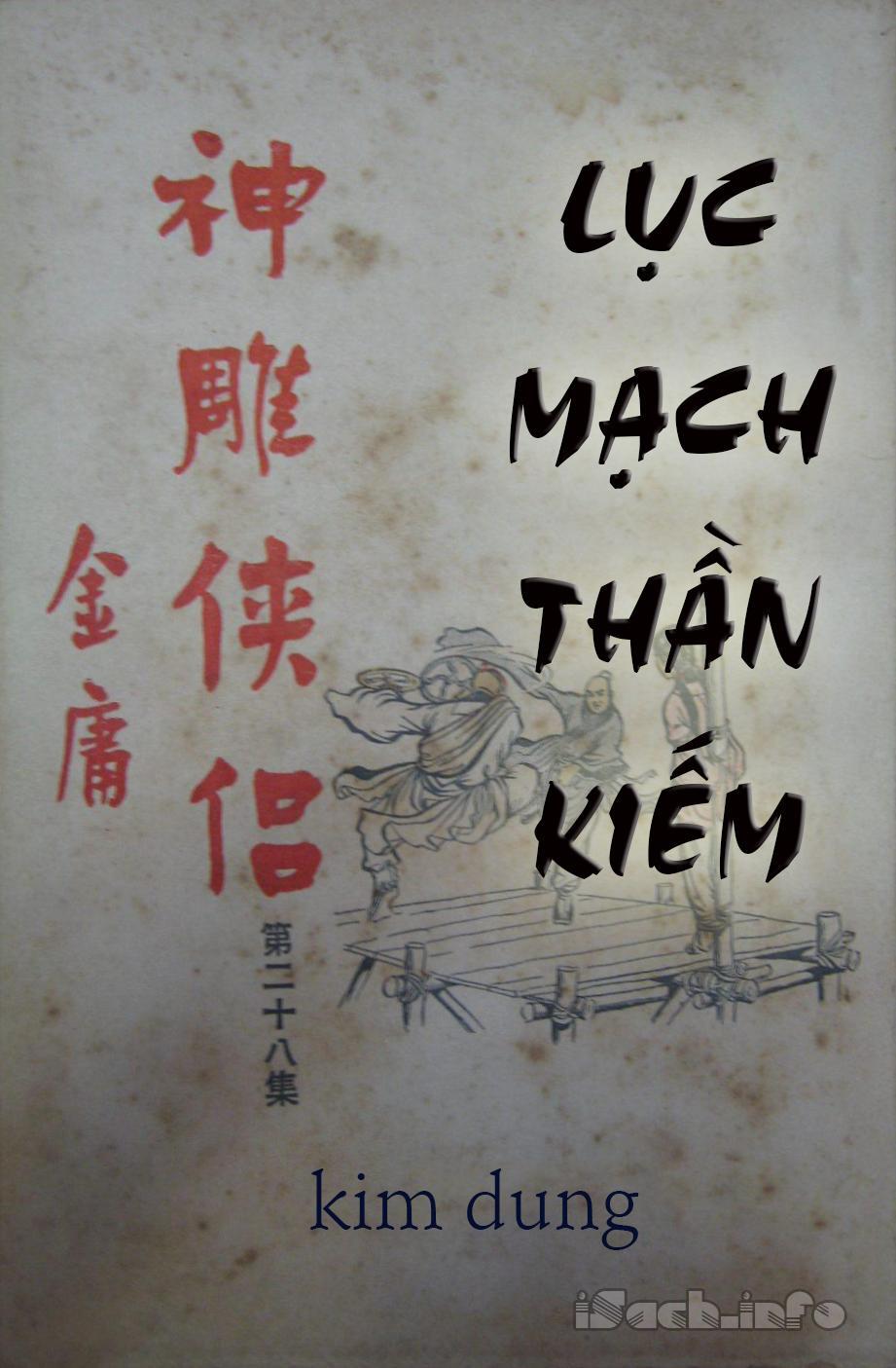 Lục Mạch Thần Kiếm - Kim Dung