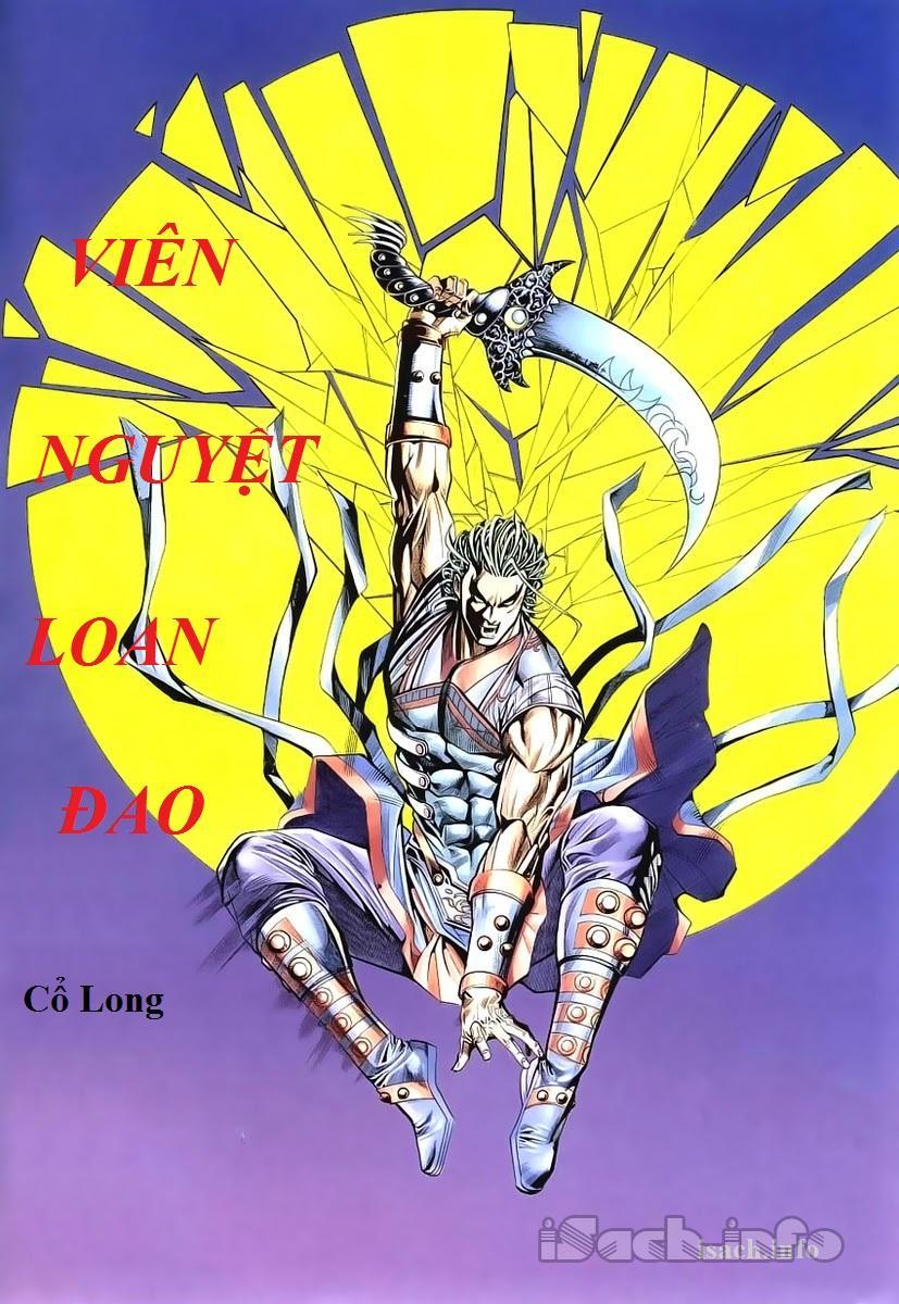 Viên Nguyệt Loan Đao - Cổ Long