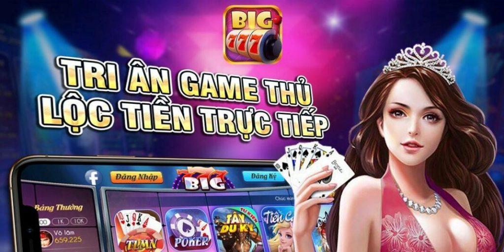 Big777 – Cổng game đổi thưởng cực chuẩn 2021